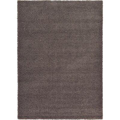 Lilah Dark Gray Area Rug Rug Size: 7 x 10