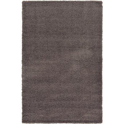 Lilah Dark Gray Area Rug Rug Size: 6 x 9