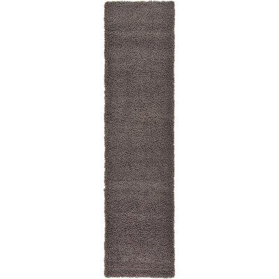 Lilah Dark Gray Area Rug Rug Size: Runner 26 x 10