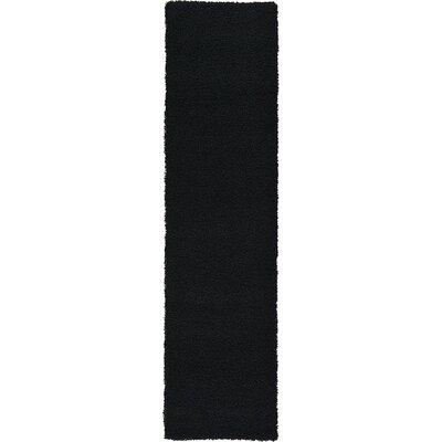Lilah Black Area Rug Rug Size: Runner 26 x 10