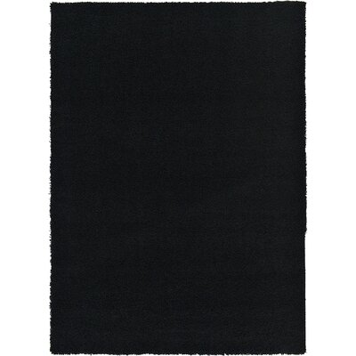 Lilah Black Area Rug Rug Size: 7' x 10'