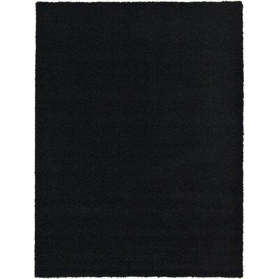 Lilah Black Area Rug Rug Size: 8' x 11'