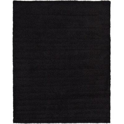 Lilah Black Area Rug Rug Size: 9' x 12'