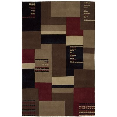 Bartelso Hand-Tufted Taupe Area Rug Rug Size: Rectangle 19 x 29