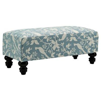 Millstone Ottoman Upholstery: Robins Egg