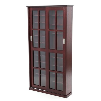 Jones Multimedia Cabinet Color: Dark Cherry
