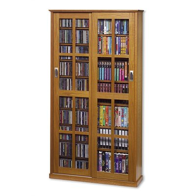 Jones  Multimedia Cabinet Finish: Natural Oak