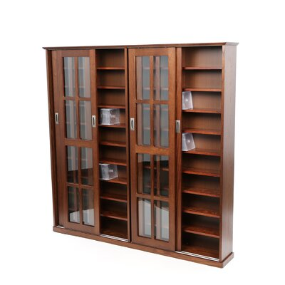 Jones Wood Multimedia Cabinet Color: Walnut