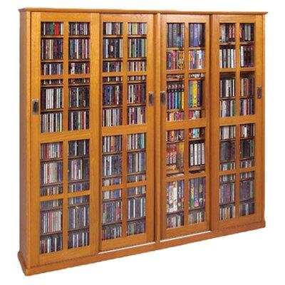 Jones Wood Multimedia Cabinet Color: Oak