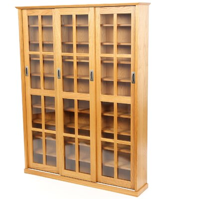 Jones Standing Multimedia Cabinet Color: Oak