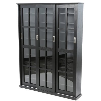 Jones Standing Multimedia Cabinet Finish: Black