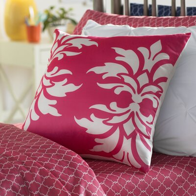 Eudora Double Outdoor Throw Pillow Color: Hot Pink