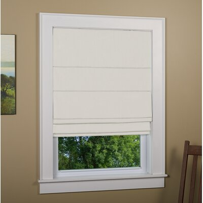 Richmond Blackout Roman Shade Size: 32 W x 63 L, Finish: Ivory
