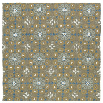 Cavour Handmade Brown Indoor / Outdoor Brown Area Rug Rug Size: Square 59