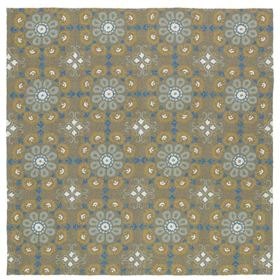 Chloe Handmade Brown Indoor / Outdoor Brown Area Rug Rug Size: Square 79