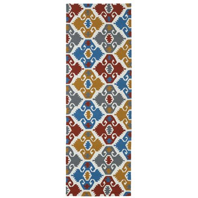 Cavour Handmade Multi Indoor / Outdoor Area Rug Rug Size: Runner 26 x 8