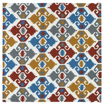 Cavour Handmade Multi Indoor / Outdoor Area Rug Rug Size: Square 59