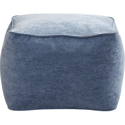 Haskell Ottoman Upholstery: Sky Blue