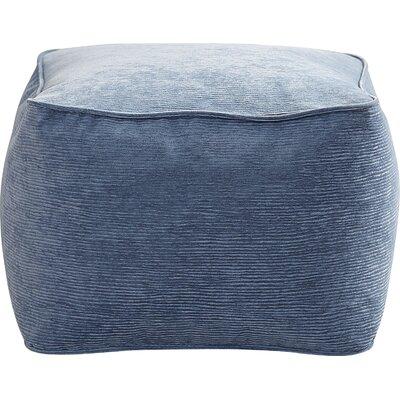 Haskell Pouf Upholstery: Sky Blue