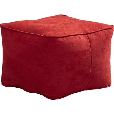 Bean Bag Chair Upholstery: Flame Red, Size: Small