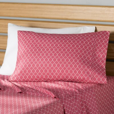 Delia Sheet Set Size: Twin XL, Color: Blush