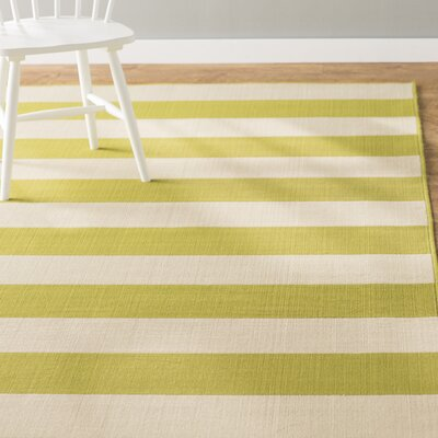 Alford Green/Ivory Indoor/Outdoor Area Rug