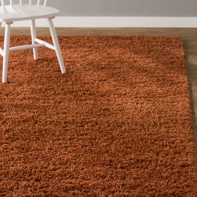 Lilah Basic Terracotta Area Rug Rug Size: Rectangle 22 x 6