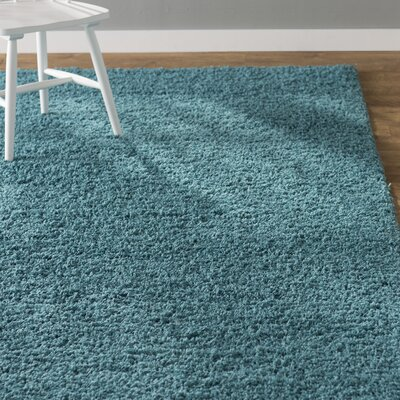 Lilah Basic Slate Blue Area Rug