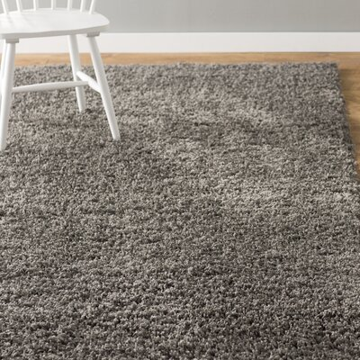 Lilah Dark Gray Area Rug Rug Size: Rectangle 6 x 9