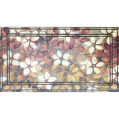 Eastford Leaf Art Outdoor Doormat