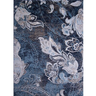 Marion Floral Area Rug Rug Size: Rectangle 5'3