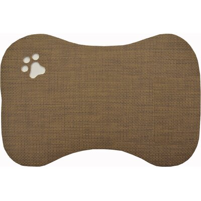 Viola Bowl Doormat Color: Brown