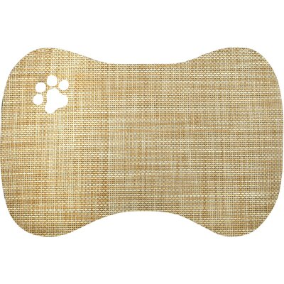 Viola Bowl Doormat Color: Tan