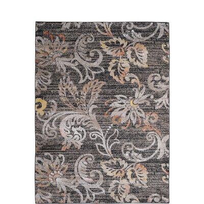 Zella Taupe Area Rug Rug Size: 19 x 211