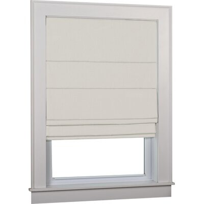Richmond Blackout White Roman Shade Size: 34 W x 63 L, Finish: Ivory