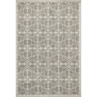 Hershel Light Gray Area Rug Rug Size: 53 x 77