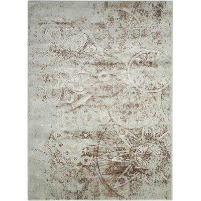 Armand Gray Area Rug Rug Size: 710 x 10