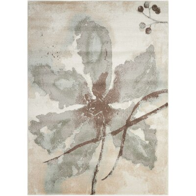 Perrysburg Ivory Area Rug Rug Size: Rectangle 311 x 511