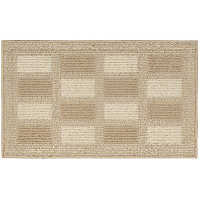 Seema Light Brown Area Rug Rug Size: Rectangle 16 x 26
