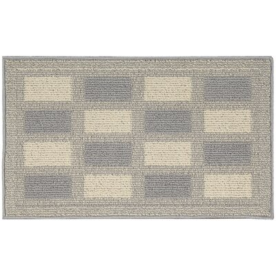 Susanna Gray/Cream Area Rug Rug Size: 26 x 4