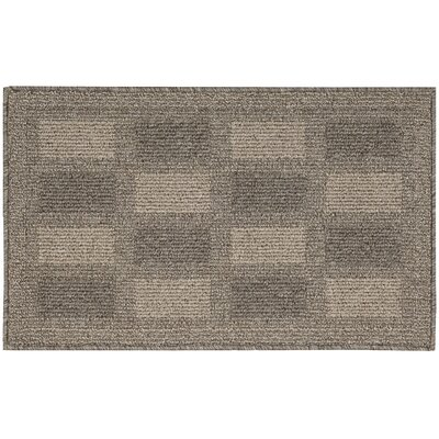 Seema Geometric Taupe Area Rug Rug Size: Rectangle 18 x 210