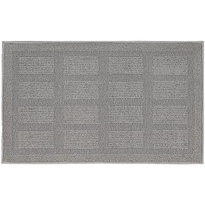 Seema Geometric Gray Area Rug Rug Size: Rectangle 18 x 210