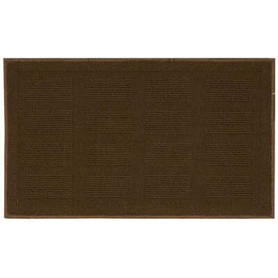 Seema Geometric Brown Area Rug Rug Size: Rectangle 26 x 4