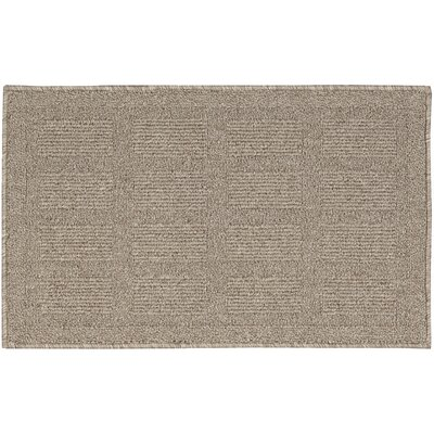 Seema Taupe Area Rug Rug Size: Rectangle 26 x 4
