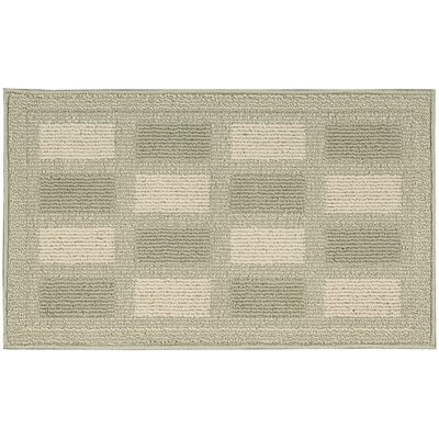Seema Light Green/Beige Area Rug Rug Size: Rectangle 26 x 4