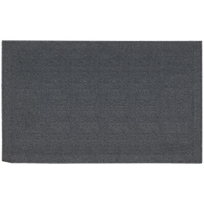 Seema Slate Area Rug Rug Size: Rectangle 26 x 4