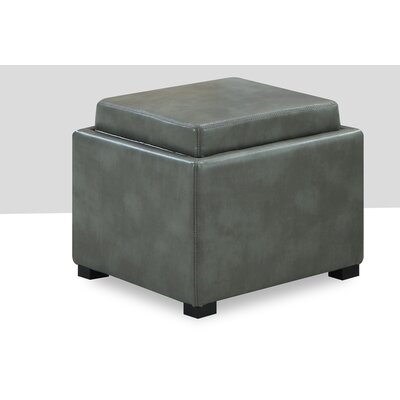 Bateman Ottoman Color: Grey