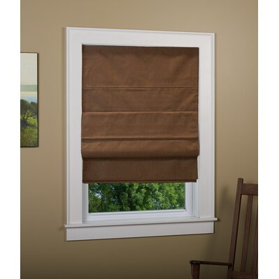 Richmond Blackout Roman Shade Size: 30 W x 63 L, Finish: Cocoa