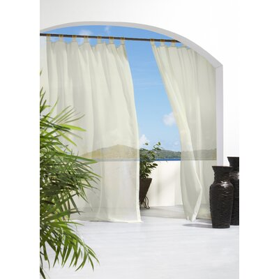 Appleton Outdoor Sheer Single Curtain Panel