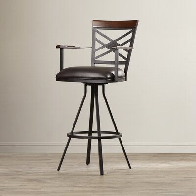 Mcallister 30 Swivel Bar Stool